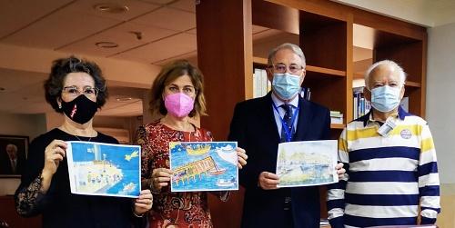 Medio centenar de mayores participan en el Concurso de Postales Navideñas de la Autoridad Portuaria