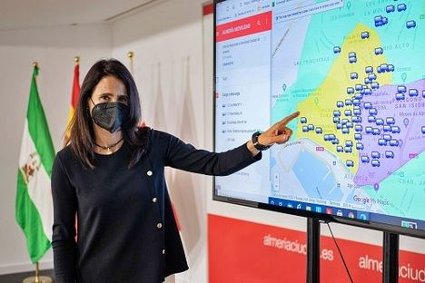 El Ayuntamiento integra en su web un visor con georeferencias de movilidad