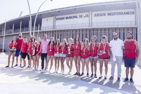 AM Team gana el campeonato de España de Balonmano Playa Infantil Femenino