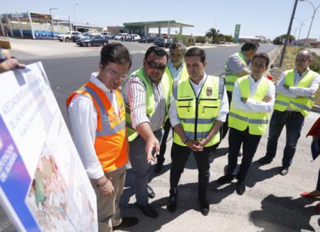 El Plan de Caminos de Diputación mejora la Carretera Las Norias – San Agustín con 675.000 euros