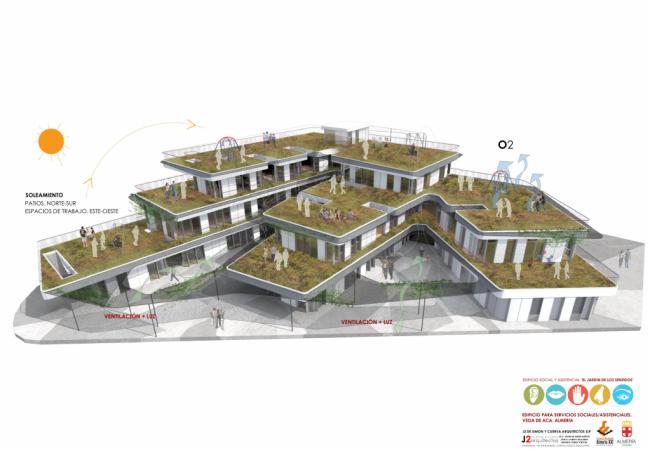 Así será el edificio del Tercer Sector que comenzará en octubre