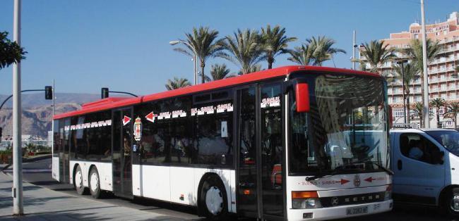 Los usuarios del servicio de bus urbano aumentan un 3,4% en 2018