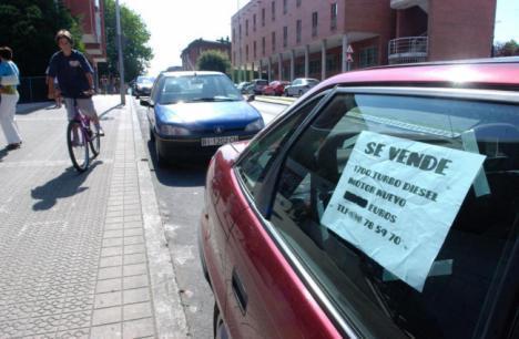 Las ventas de coches usados se estaca en Almería