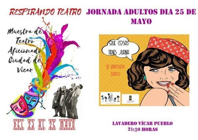 Da comienzo en La Gangosa la Muestra de Teatro Aficionado Ciudad de Vícar