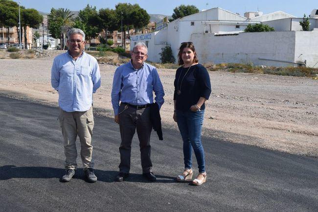 Mejora del pavimento de la zona del mercadillo dominical de Vícar
