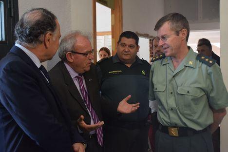 Bonilla plantea al nuevo Subdelegado la ampliación del Cuartel de la Guardia Civil