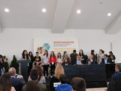 Vícar en el V Encuentro Estatal de consejos de Participación de la Infancia y Adolescencia