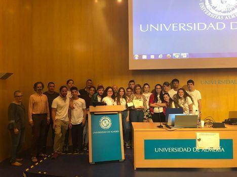 IES Puebla de Vícar, tercero en el V Certamen de Proyectos Educativos de Ciencias Ambientales de la UAL