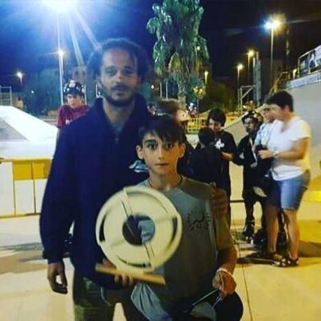 El patinador vicario Antonio Baños estará presente en la Junior's Cup del Imagine Extreme de Barcelona