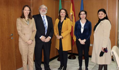 Crespo transmite al Comité Europeo de Desarrollo Rural sus objetivos en materia agrícola