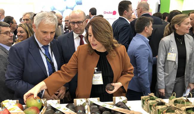 Crespo, en Berlín: 'Andalucía exporta agricultura sostenible, tecnología y salud al resto del mundo'