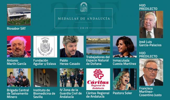 Cosentino y Biosabor será distinguidos por la Junta en el Día de Andalucía