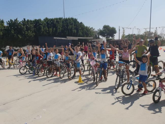 Pampanico celebra el Día de la Bicicleta con motivo de sus fiestas patronales