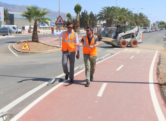 1,2 millones de euros para caminos escolares seguros y más carriles bici en El Ejido