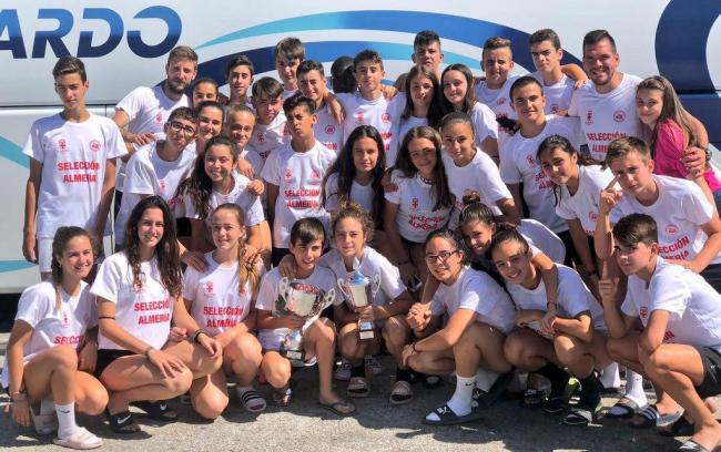 El voleibol almeriense brilla en el XXIV Campus Andaluz Carlos Carreño 'Charly'