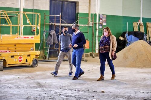 Diputación culmina en Huércal de Almería el Plan de Instalaciones Deportivas