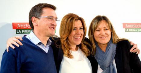 Susana Díaz no ha cumplido el único compromiso de investidura que tuvo con Almería