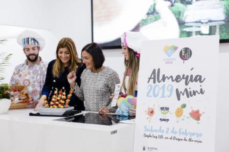 El 2 de febrero los niños protagonizan Capitalidad Gastronómica con 'Almería 2019 Mini'