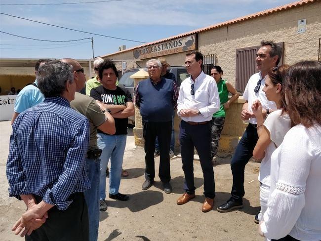 El PSOE reclama al alcalde y la Diputación la mejora de la carretera a Cuevas de Los Medina