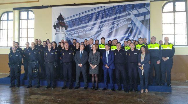 El subdelegado del Gobierno inaugura el XI Curso de Seguridad en Puertos de Policía Nacional