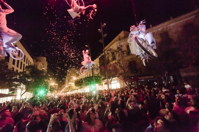 Danza Invisible, los Hermanos Torres y Efecto Pasillo, en la Noche en Blanco