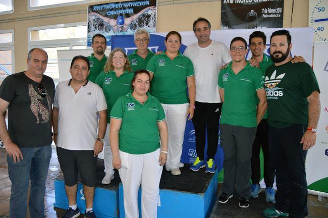 Almería acoge el Campeonato de Andalucía de Natación, con más de 200 deportistas
