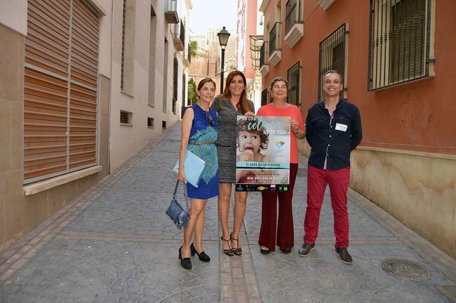Almería 2019 recibe el apoyo de la Asociación de Celiacos