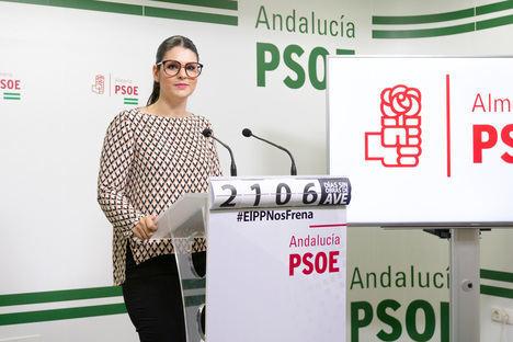 Noemí Cruz insiste en que el AVE de Almería será