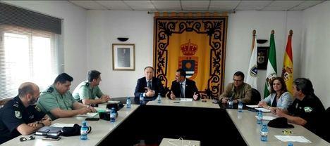 El subdelegado del Gobierno asiste a la Junta Local de Seguridad en La Mojonera
