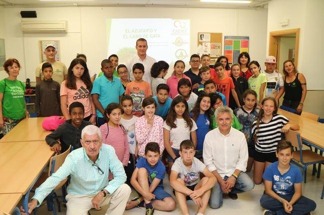 La Junta celebra el Día Mundial del Medio Ambiente junto al alumnado del CEIP 'Virgen del Mar '