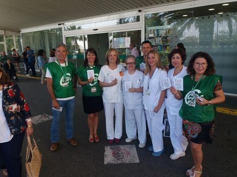 CSIF inicia una campaña de concienciación en Torrecárdenas por una Sanidad pública gratuita y de calidad