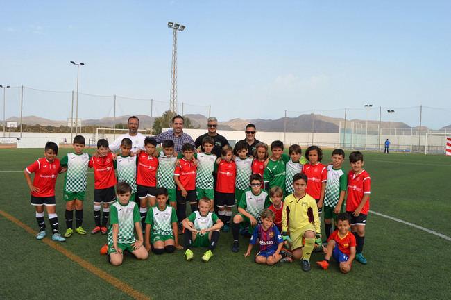 Club Deportivo Ejido y Club Natación Almería, vencedores alevín y benjamín del I Torneo 'Poli Cup'