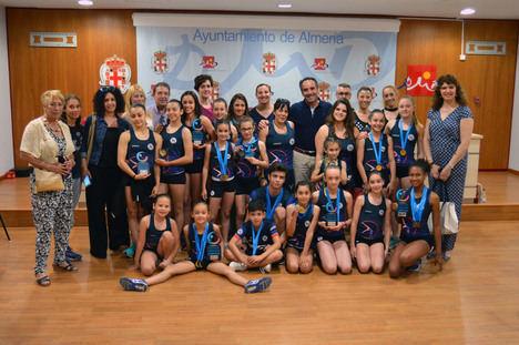 La EDM Stella Maris logra 12 podios en el Campeonato de Andalucía de Gimnasia Artística