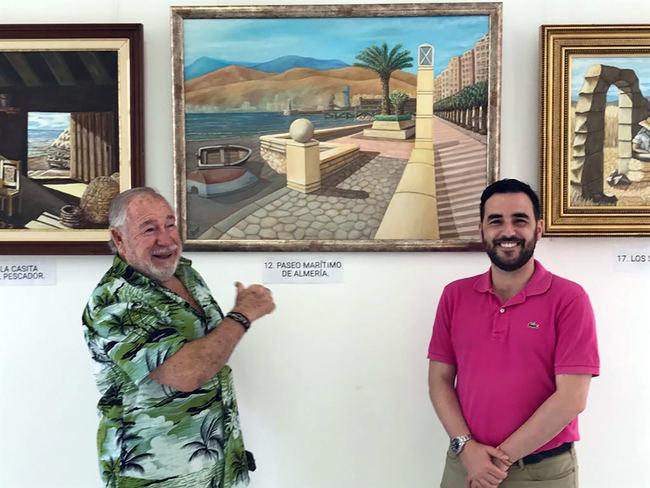 La sala Jairán del CIP acoge la exposición 'Rincones de Almería Mediterránea'