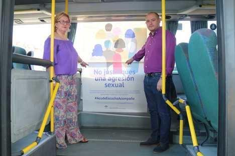 Campaña en los autobuses metropolitanos contra las agresiones sexuales