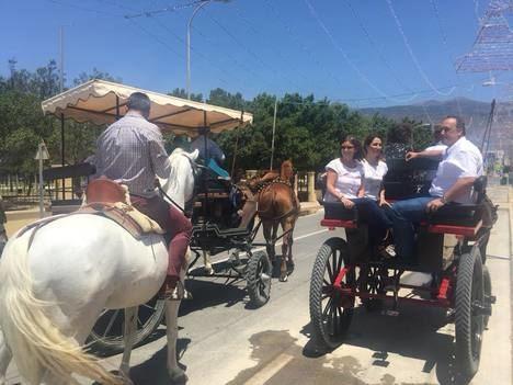 Paseo de caballos con motivo de San Isidro 2018