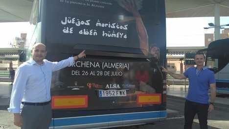 Los XX Juegos Moriscos Aben Humeya se promocionan en los autobuses