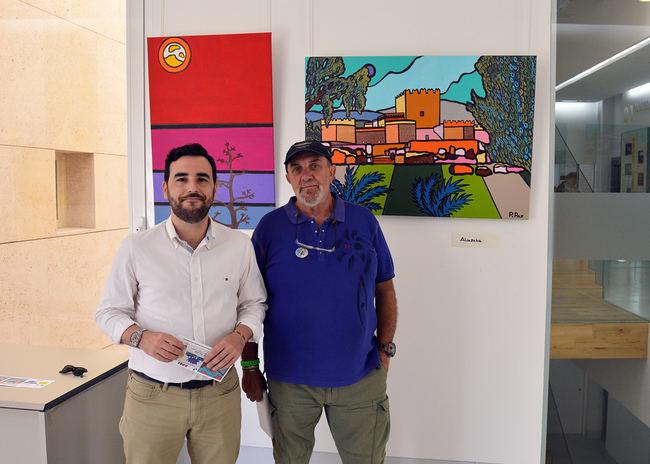 Paco Paz lleva su visión Pop de Almería a la sala Jairán del Centro de Interpretación Patrimonial