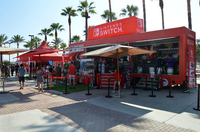 El Parque de las Almadrabillas recibe el Switch Tour de Nintendo