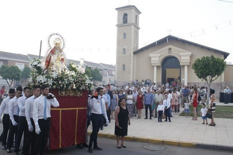 La Curva celebró este fin de semana sus fiestas en honor a la Virgen de la Vega