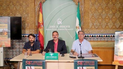 Junta y Ayuntamiento de Pechina presentan el Festival de Autor 58 grados