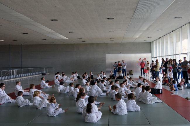 La Escuela Municipal de Aikido acerca este deporte a los niños de Almería
