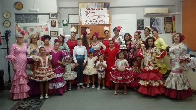 Alquería Viva organizó un desfile de su taller de costura