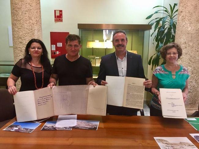 """El Archivo Histórico muestra un """"Proyecto de demolición del cerro de Las Mellizas (1936)"""" como documento del mes"""