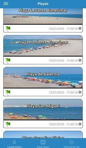 Toda la información de las playas de El Ejido a un solo 'click'