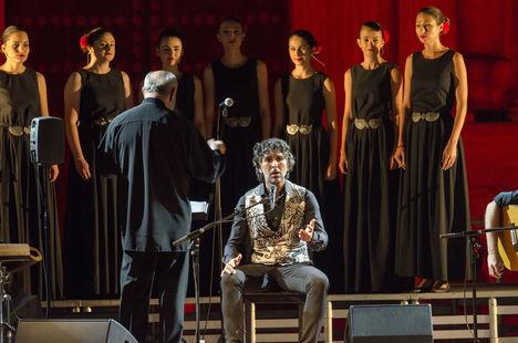Arcángel hace volar su talento y valentía en la apertura del 52º Festival de Flamenco y Danza de Almería
