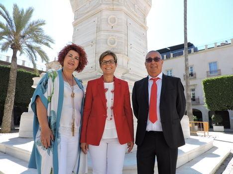 Amparo Ramírez y José Antonio Alfonso toman posesión como concejales del GMS en el Ayuntamiento de Almería