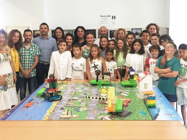 El centro Guadalinfo de Los Gallardos colabora en un proyecto de robótica