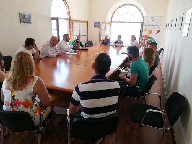 El delegado de Empleo y Conocimiento toma el pulso al espíritu emprendedor de la provincia