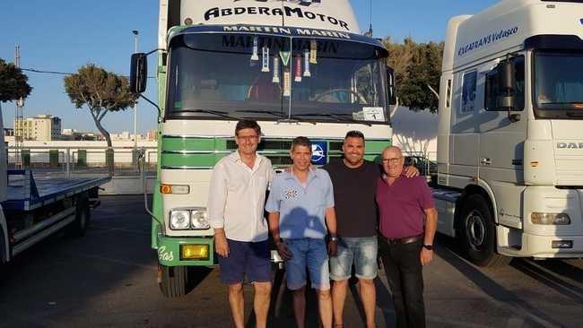 La IV Concentración de Camiones Ciudad de Adra 2018 atrajo a un gran número de camiones